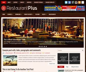 blogger themes cafe restaurantplus blogger template blogger templates 2018