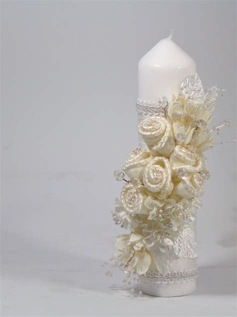 Holy Communion Candle Decoration by Christening Candle Ceremony Candle Holy Por