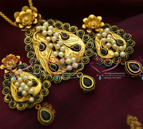 Handmade Gold Jewellery Designs - ps1827 exclusive antique sapphire gold design handmade