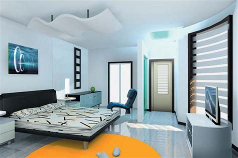 Home Interior Design India | modern interior design bedroom from india
