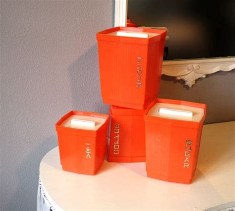 orange kitchen canisters 17 best images about kitchen canisters on