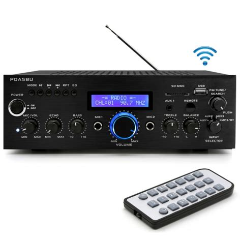pylehome pdabu home  office amplifiers