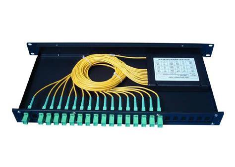 Slitter By Damai Optical Supply 1 16 fiber optic cable splitter for rack mounted fiber