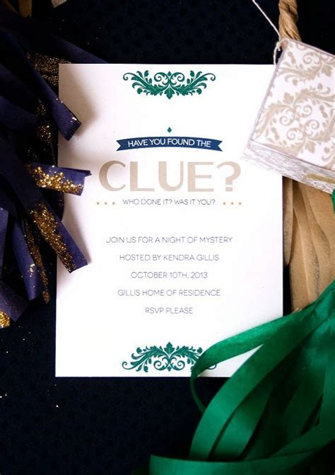 secret clue ideas clue mystery and free invitation printable pretty