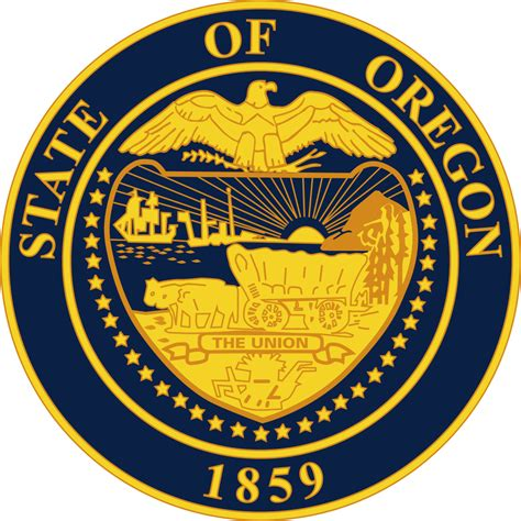 Or Wiki File Seal Of Oregon Svg