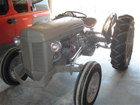 1952 Ferguson To30 The Tractorshed Com