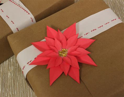 how to make paper poinsettias petal talk