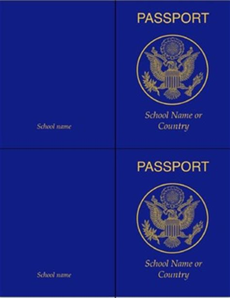 Passport Templates For Teachers by Classroom Passport Template Flex By Phillip Shockley Tpt
