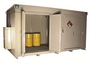 secondary containers for chemical storage chemical storage buildings and containers by benko