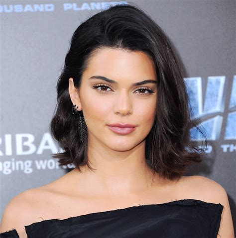 Kendall Jenner's Black Bob and Bangs   InStyle.com