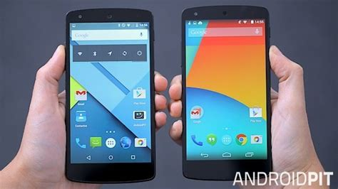 c75 4 5 android kitkat 10 diferen 231 as entre o android 4 4 kitkat e o android 5 0