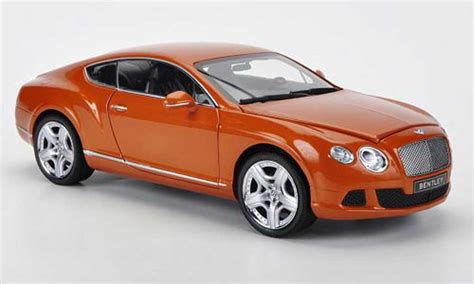 bentley orange bentley continental gt orange 2011 minichs modellini