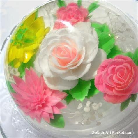 flower design jello 95 best gelatin art images on pinterest art market cake