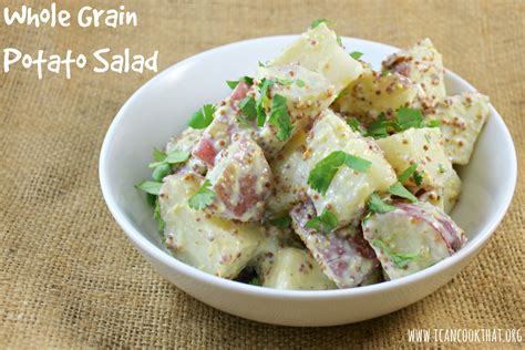 whole grain mustard potato salad recipe i can cook that i can cook that