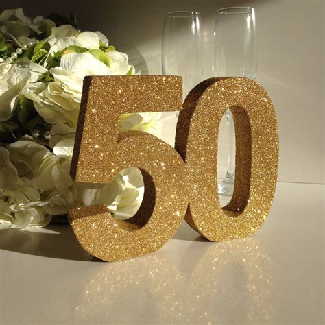 50th birthday table decorations gold 50th birthday decoration 50th anniversary