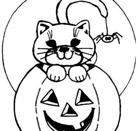 cartoon jack o lanterns az coloring pages