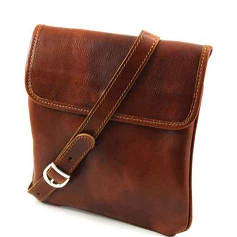 Tas Ladys Studed brown leather crossbody bag asian tote bag