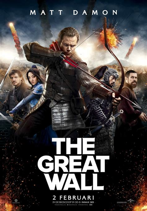 movies this weekend the great wall 2016 filmladder the great wall