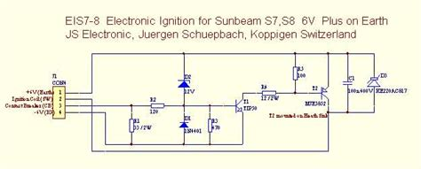 electronic ignition schematic get free image about