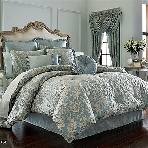 j queen new york kingsbridge comforter set in french