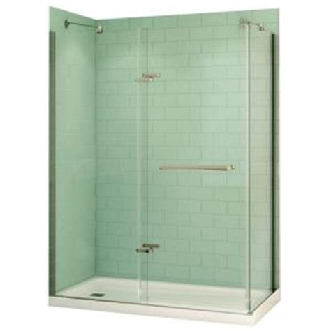 Home Depot Maax Shower by Maax Reveal 32 In X 60 In X 74 5 In Corner Shower Stall