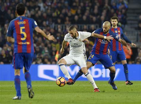 Fc Barcelona fc barcelona v real madrid cf la liga zimbio