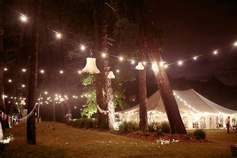 outdoor marquee lighting night marquee hire potters bar