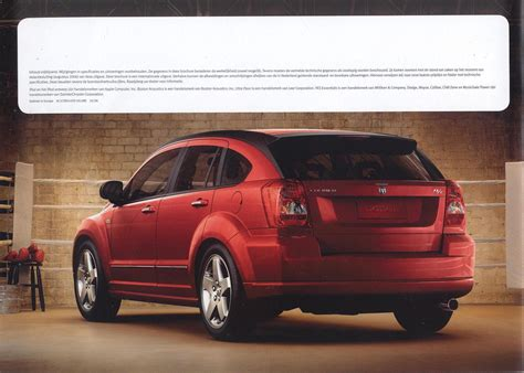 dodge xom 2007 dodge caliber brochure