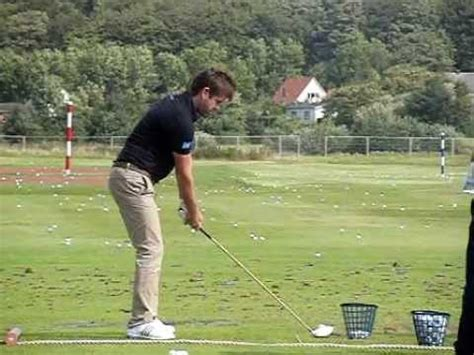 golf swing down the line view robert rock golf swing driver down the line view