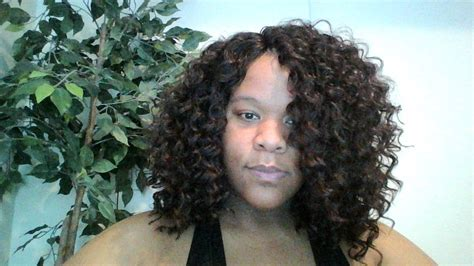 how to hook sprial hair freetress presto and model model spiral deep curl crochet