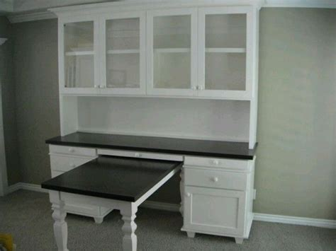 desk hutch with pull out table stuff i ve made or