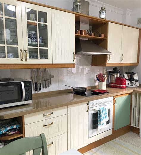 decorar cocina en l pintar muebles de cocina el rinc 243 n de bea