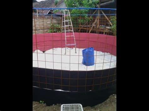 Harga Kolam Terpal Bundar 2017 pembuatan kolam bundar xilfy