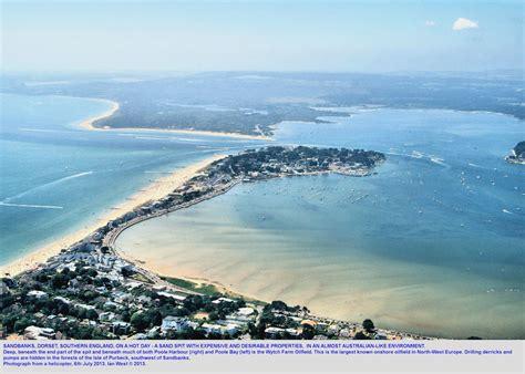 sand banks dorset sandbanks peninsula dorset geology and geomorphology