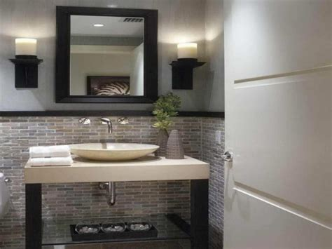 Decorating Ideas For Modern Bathroom Bathroom Inspiring Half Bathroom Ideas For Modern Your