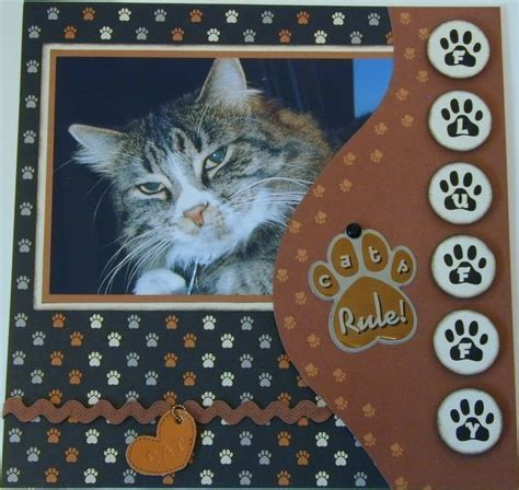 scrapbook layout ideas cats my cat fluffy two peas in a bucket scrappiness pinterest