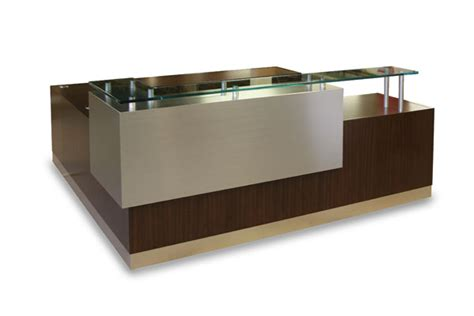 arnold reception desks arnold reception desks inc contemporary reception desk