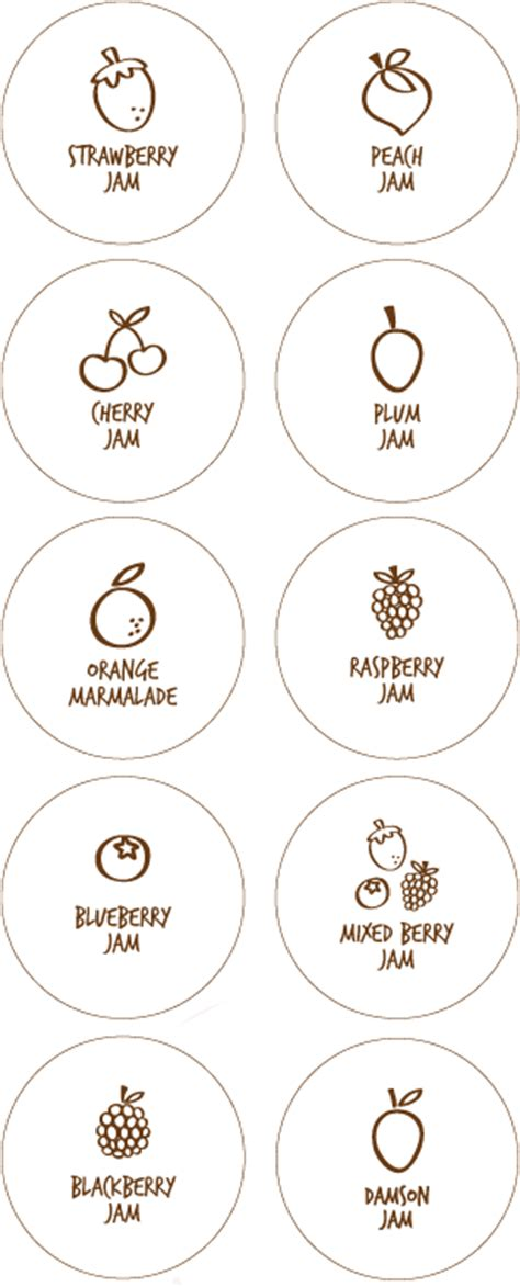 printable jam labels uk free printable jam labels tags from tip junkie round and