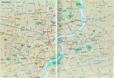 shanghai map shanghai city map map of shanghai china shanghai travel map
