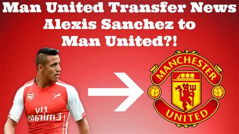 now official alexis sanchez signs for manchester united manchester united latest transfer news alexis sanchez to