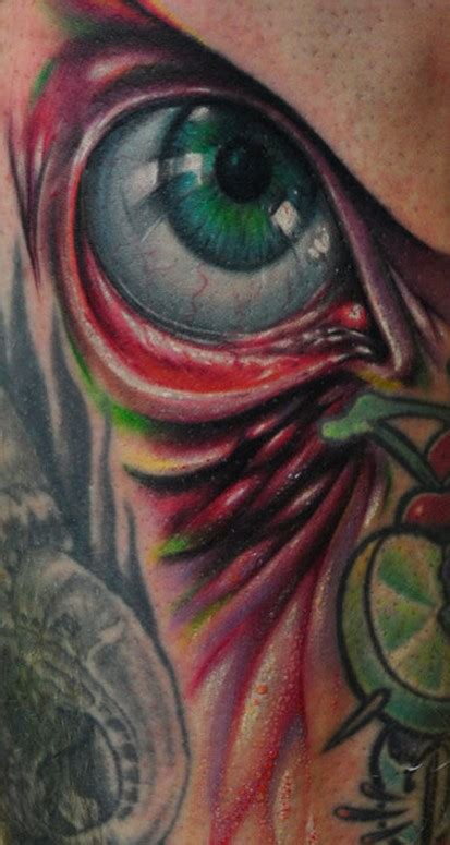 tattoo eye color color eye tattoo by bez tattoonow
