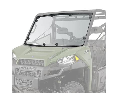 lock ride 174 pro fit coat poly windshield polaris