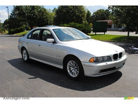 2001 Bmw 530i by 2001 Bmw 5 Series 530i Sedan In Titanium Silver Metallic