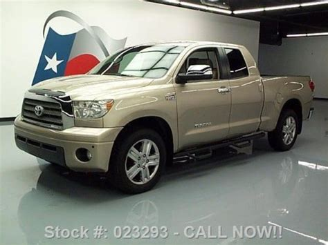 Toyota Direct Used Cars Buy Used 2007 Toyota Tundra Ltd Dbl Cab 4x4 5 7 Leather 20