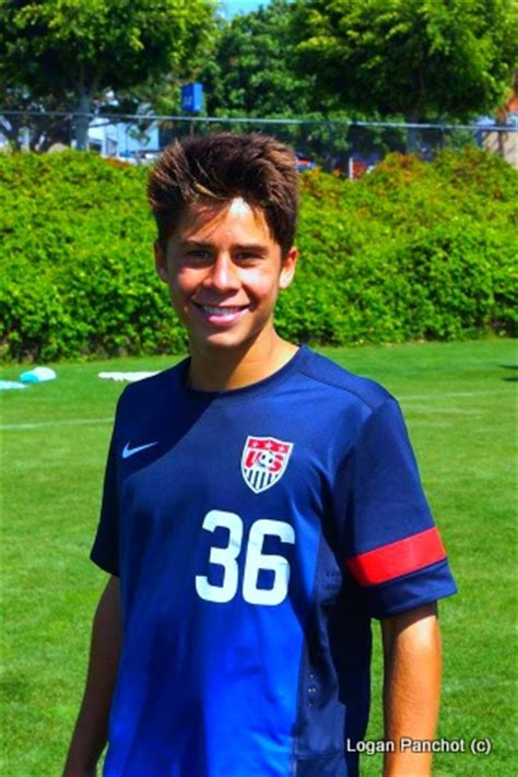 christian pulisic logan panchot logan panchot called in for u15 cup of nations in mexico