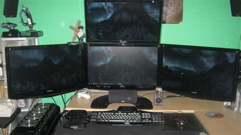 Amazon Com Ergotech Triple Horizontal Lcd Monitor Arm Ergotech Horizontal Lcd Monitor Arm Desk Stand