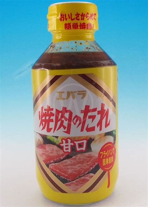 Ebara Foods Yakiniku Barbecue Sauce Yakiniku No Tare Karakuchi woo joo food product categories sauce