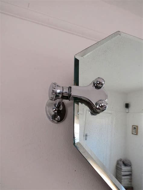 swivel mirror bathroom vintage art deco chrome swivel bathroom mirror ebay