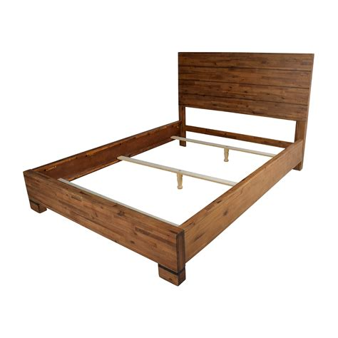 50 Off Macy S Macy S Chagne Queen Bed Frame Beds Furniture Bed Frame
