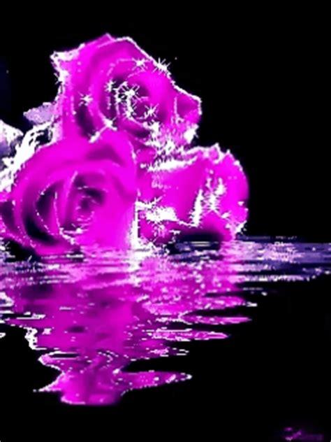 imagenes con movimiento neon hermosas rosas con movimiento